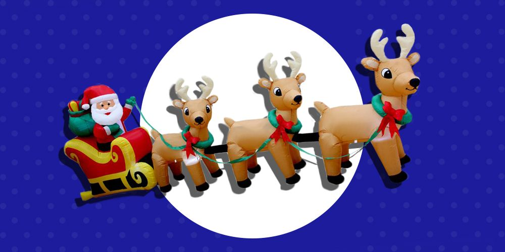 cb2922f8d9 16 Best Christmas Inflatables for 2018 - Fun Inflatable Christmas  Decorations