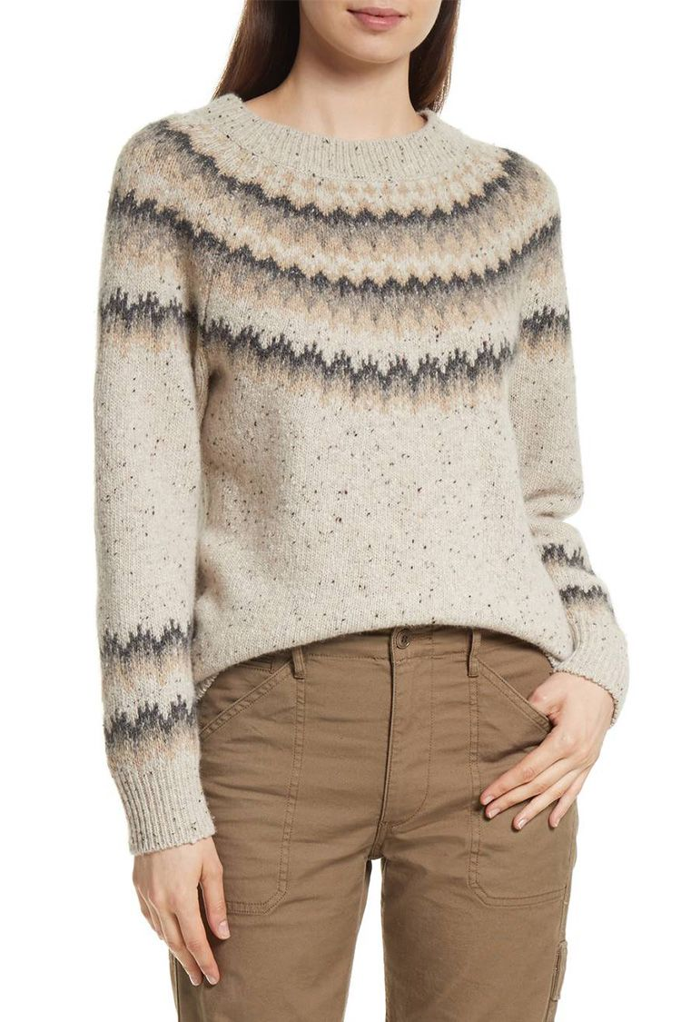 10 Best Fair Isle Sweaters for Winter 2018 - Fair Isle Knit Sweaters for  Women