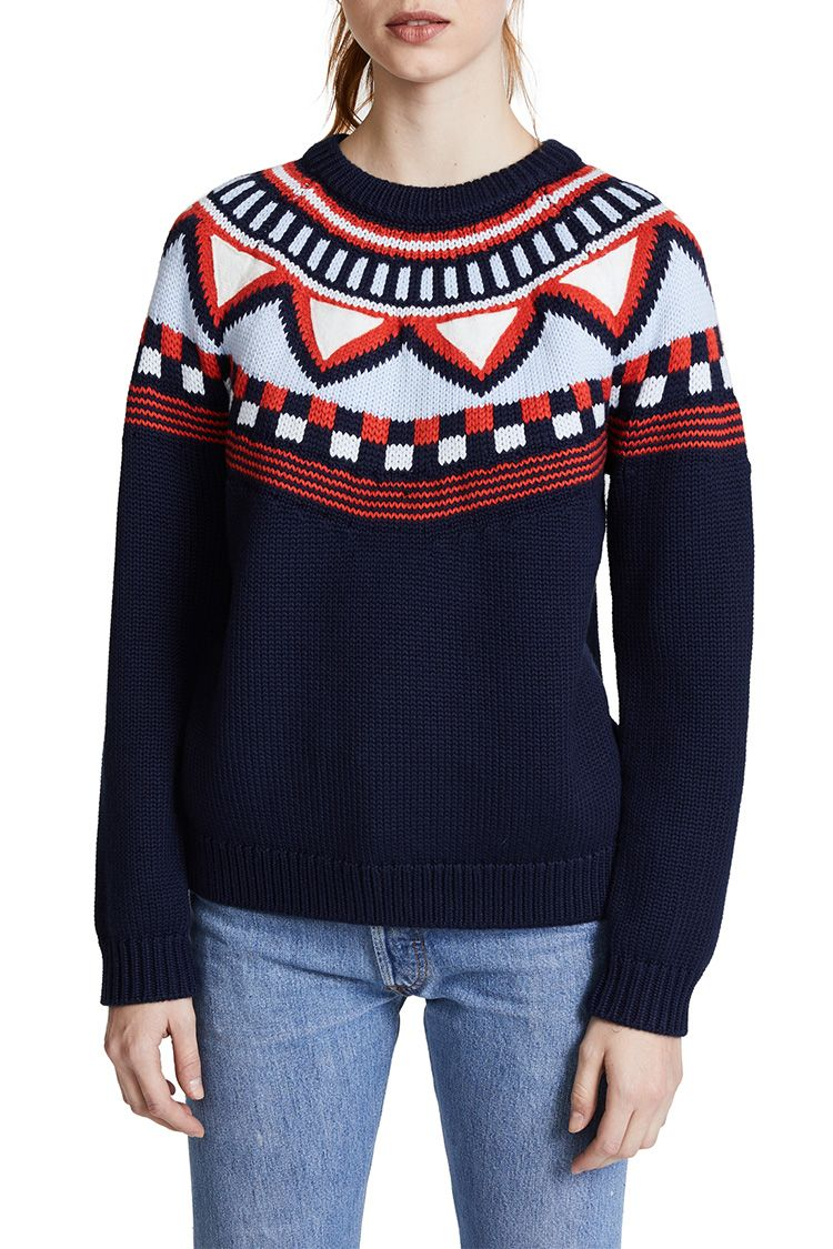 10 Best Fair Isle Sweaters for Winter 2018 - Fair Isle Knit Sweaters ...