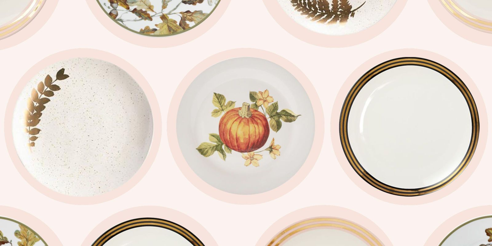 Thanksgiving dishes  sc 1 st  BestProducts.com & Chic Thanksgiving Dinnerware for Hosting in 2018 - Thanksgiving ...