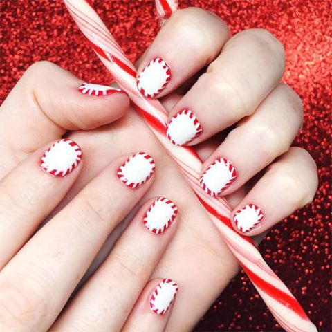9 Best Holiday Nail Art Designs For 2018 Festive Christmas Nail