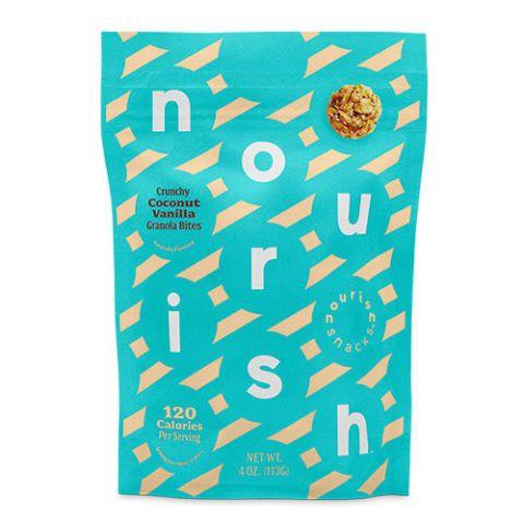 Nourish Snacks Crunchy Coconut Vanilla Granola Bites