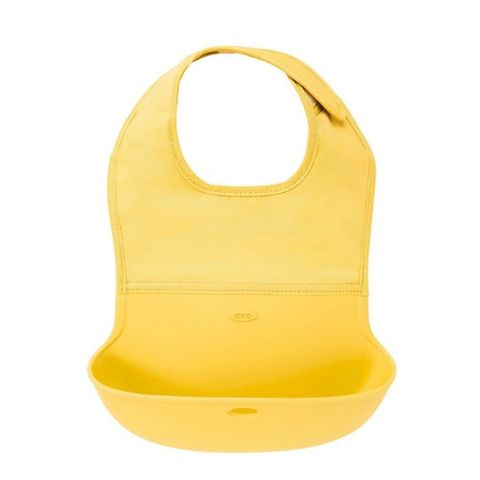 OXO Tot Waterproof Silicone Roll Up Baby Bib