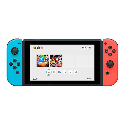 """<p><strong data-redactor-tag=""""strong""""><em data-redactor-tag=""""em"""">from $299 </em></strong><a href=""""https://www.amazon.com/Nintendo-Switch-Gray-Joy-Con/dp/B01LTHP2ZK?th=1&tag=bp_links-20"""" target=""""_blank"""" class=""""slide-buy--button"""" data-tracking-id=""""recirc-text-link"""">BUY NOW</a> </p><p><strong data-redactor-tag=""""strong"""">Best Overall</strong> </p><p>Nintendo's newest gaming console has been nearly impossible to get due to such high demand. The Switch features a unique design, and it offers one of the most versatile gaming experiences. The console is simply a 6.2-inch tablet with small controllers called Joy-Cons that attach to the sides of the screen (or they can be removed to use as wireless controllers). When you place the Switch in its dock, it automatically switches to allow gaming on the big screen.<span class=""""redactor-invisible-space"""" data-verified=""""redactor"""" data-redactor-tag=""""span"""" data-redactor-class=""""redactor-invisible-space""""> The Switch offers entertainment in any environment, thanks to its portability. You can even kick back and watch Hulu on it!</span></p><p><strong data-redactor-tag=""""strong"""">More: </strong><a href=""""http://www.bestproducts.com/tech/gadgets/g2887/top-nintendo-nx-switch-games/"""" data-tracking-id=""""recirc-text-link"""" target=""""_blank"""">Must-Have Nintendo Switch Games to Start Playing ASAP</a></p>"""