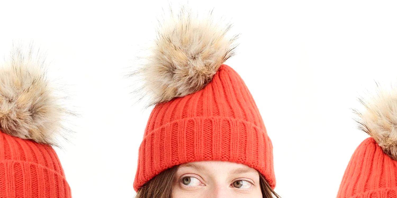0c577c62ce3 11 Best Pom Pom Hats for 2018 - Fur   Fuzzy Pom Pom Hats