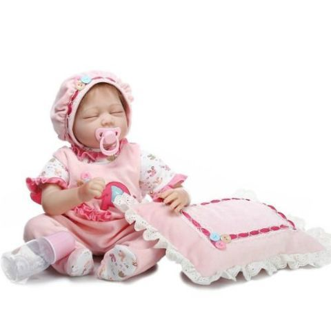 Cute Silicone Baby Doll
