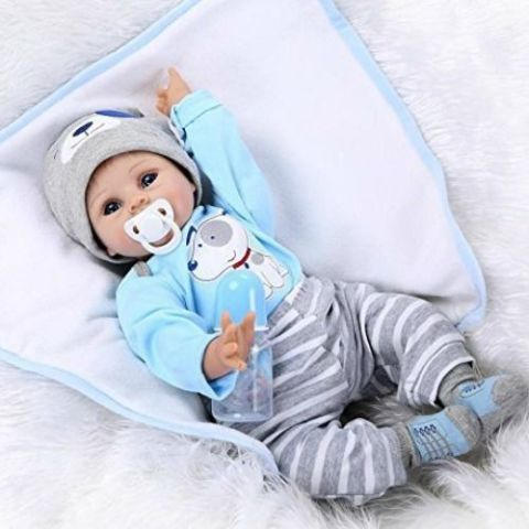 Baby Boy SIlicone Doll