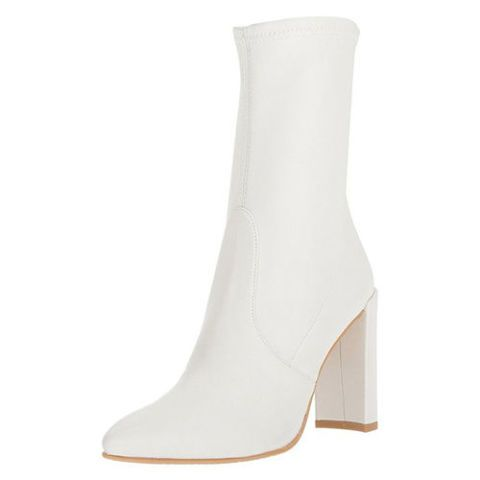 stuart weitzman clinger white boots