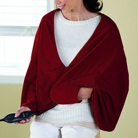 Sunbeam Chill-Away Heated Fleece Wrap