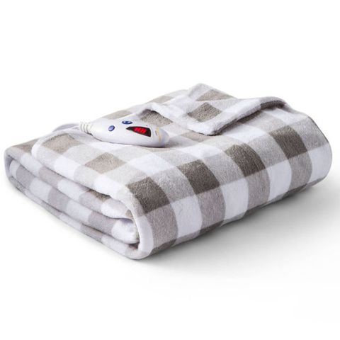 Biddeford Microplush Electric Throw Blanket