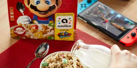 Kellogg's Nintendo cereal