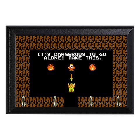 The Legend Of Zelda Decorative Wall Plaque Key Hook