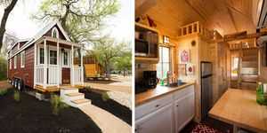 Austin's Original Tiny Homes Hotel, Rose E-18.