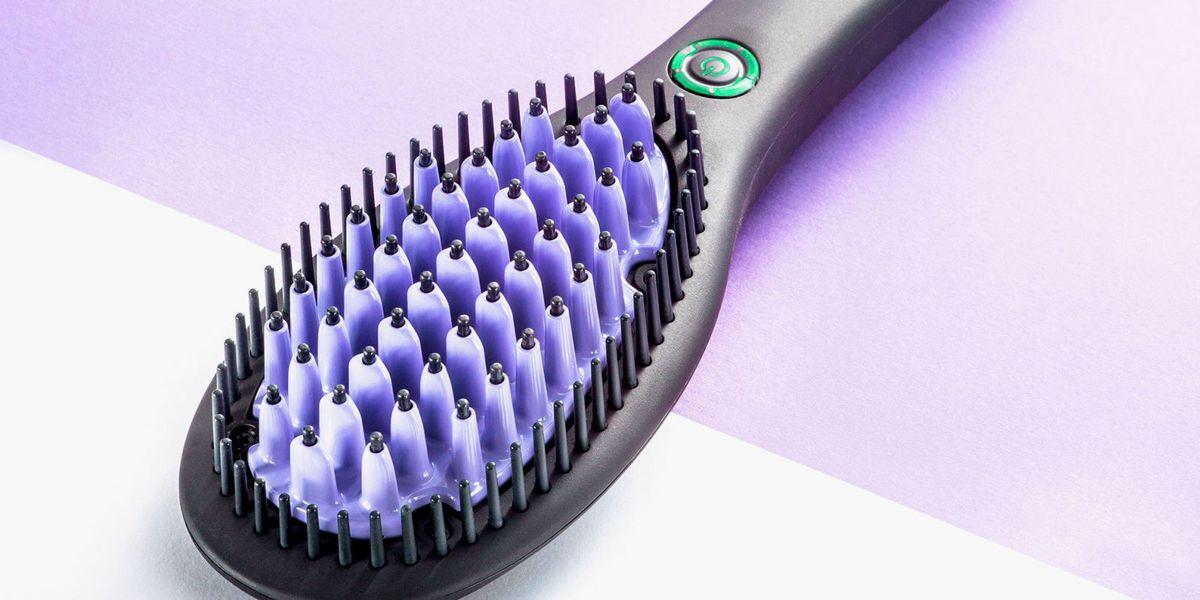 7 Best Hair Straightening Brushes In 2018 Straightening