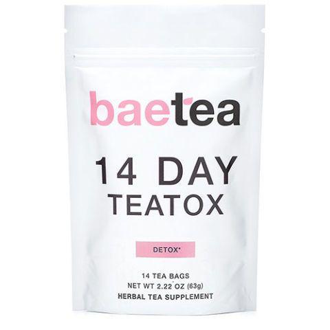 Baetea 14 Day Teatox Detox Herbal Tea Supplement