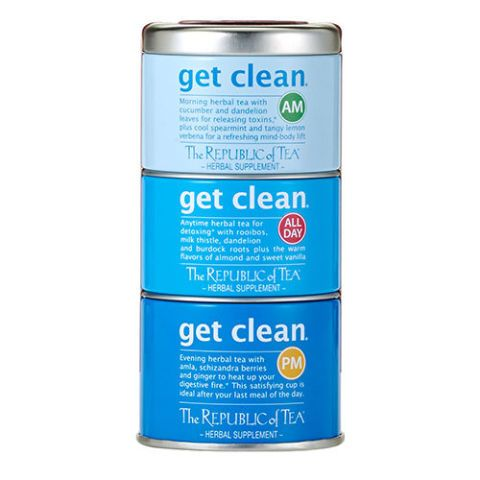 The Republic Of Tea Get Clean Herbal Supplement