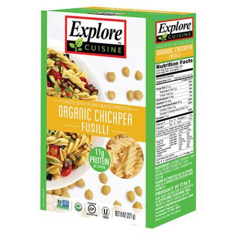 Explore Cuisine Organic Chickpea Fusilli Pasta