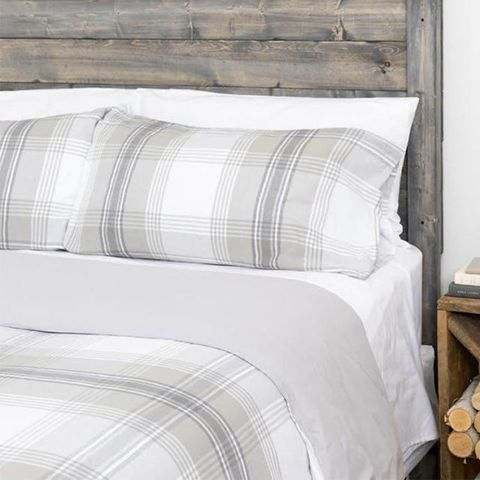 Boll & Branch Flannel Duvet Cover Set