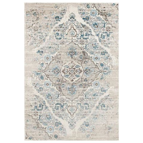 Persian Area Rugs 4620 Distressed Cream Area Rug
