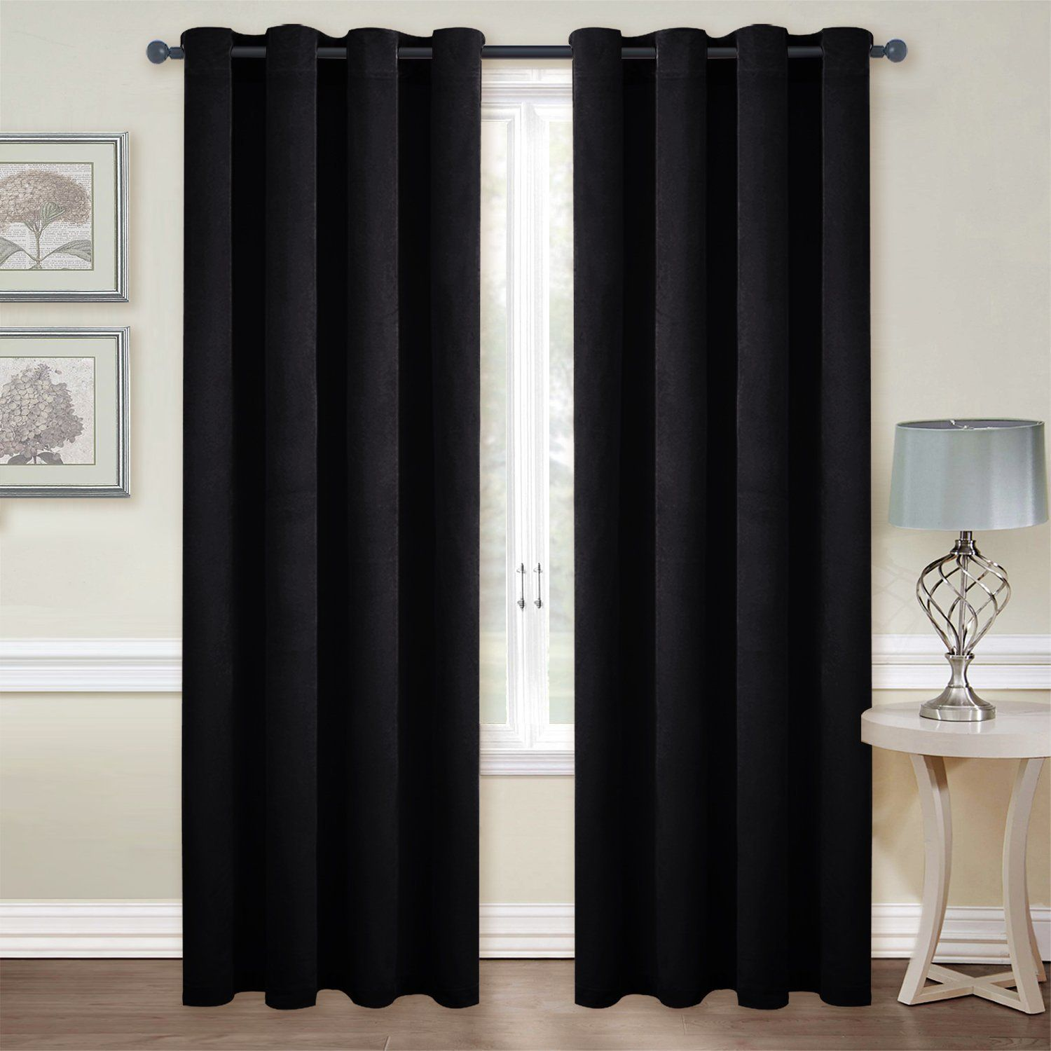 Nicetown Luxury Velvet Blackout Window Treatment