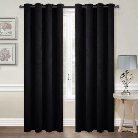 Nicetown Luxury Velvet Blackout Window Treatment