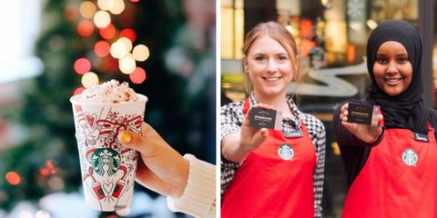 Free $20 Starbucks Cards NYC December 2017