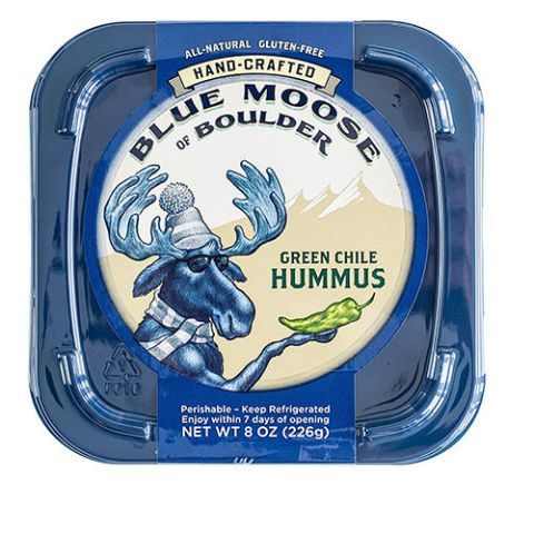 Blue Moose of Boulder Green Chile Hummus