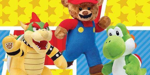 Super Mario Build-a-Bear