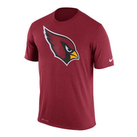 Men s Arizona Cardinals Nike Cardinal Legend Logo Essential 3 Performance T- Shirt d97df8fdb