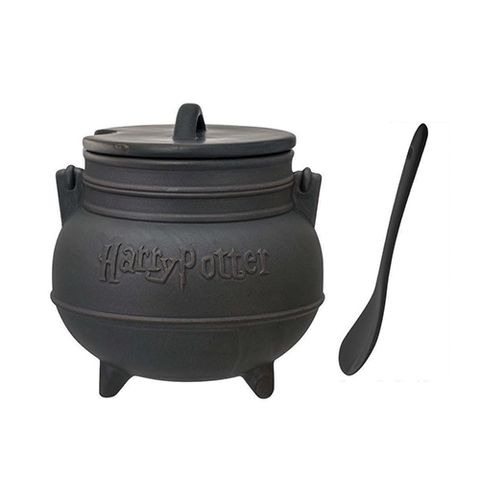 17 cheap things on amazon thatll brighten your day in 2018 harry potter black cauldron ceramic soup mug with spoon gumiabroncs Gallery