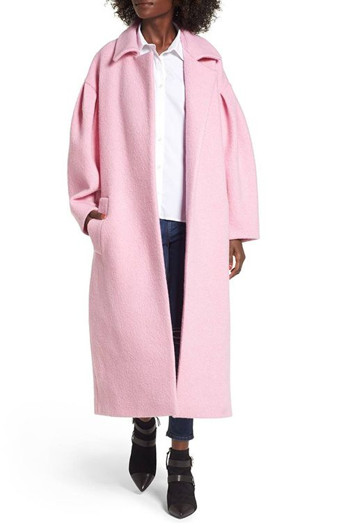 Topshop Mutton Sleeve Coat