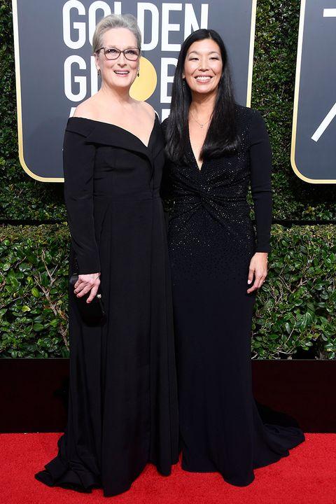 Meryl Streep Golden Globes 2018