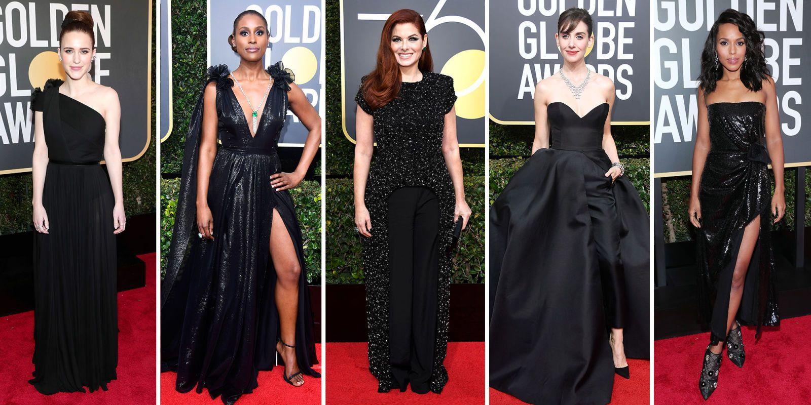 Black Dresses Red Carpet