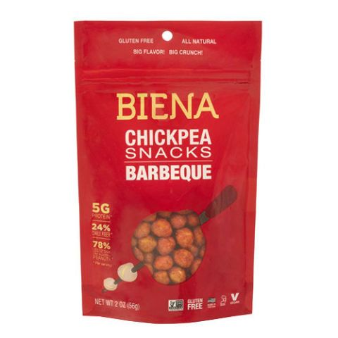 Biena Barbecue Chickpea Snacks