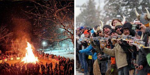 Ullr Fest has fun winter events in Breckenridge, Colorado