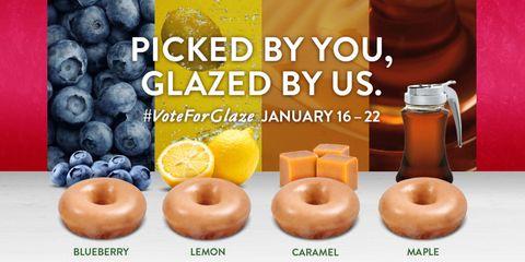 Krispy Kreme donut flavor