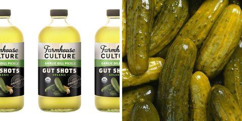 Dill pickle gut shot