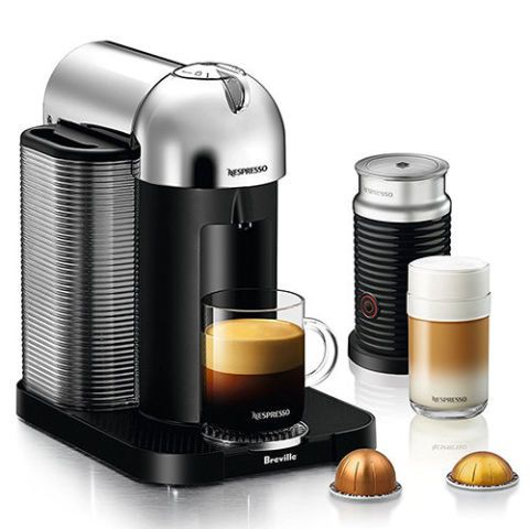 Nespresso Vertuo Coffee and Espresso Machine by Breville with Aeroccino