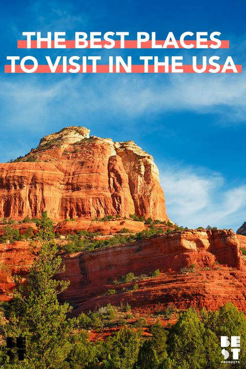 50 Best Places To Visit In The USA In 2018