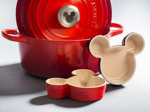 Le Creuset released a limited-edition Disney Mickey Mouse cookware collection