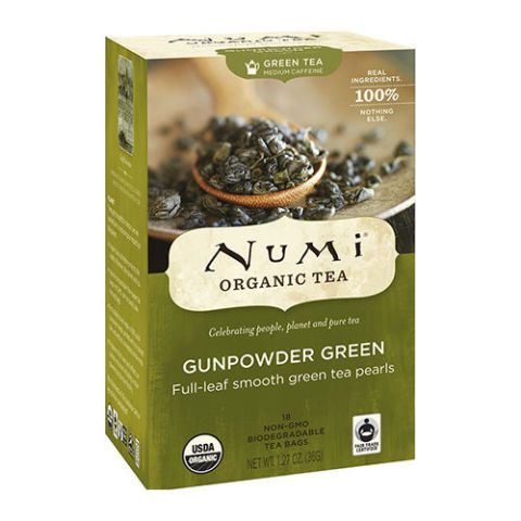 Numi Organic Tea Gunpowder Green Full Leaf Green Tea