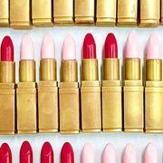 Cosmetics, Lipstick, Pink, Beauty, Tints and shades, Material property, Lip care, Gloss, Ammunition, Lip gloss,