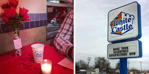 White Castle is taking reservations for Valentine's Day