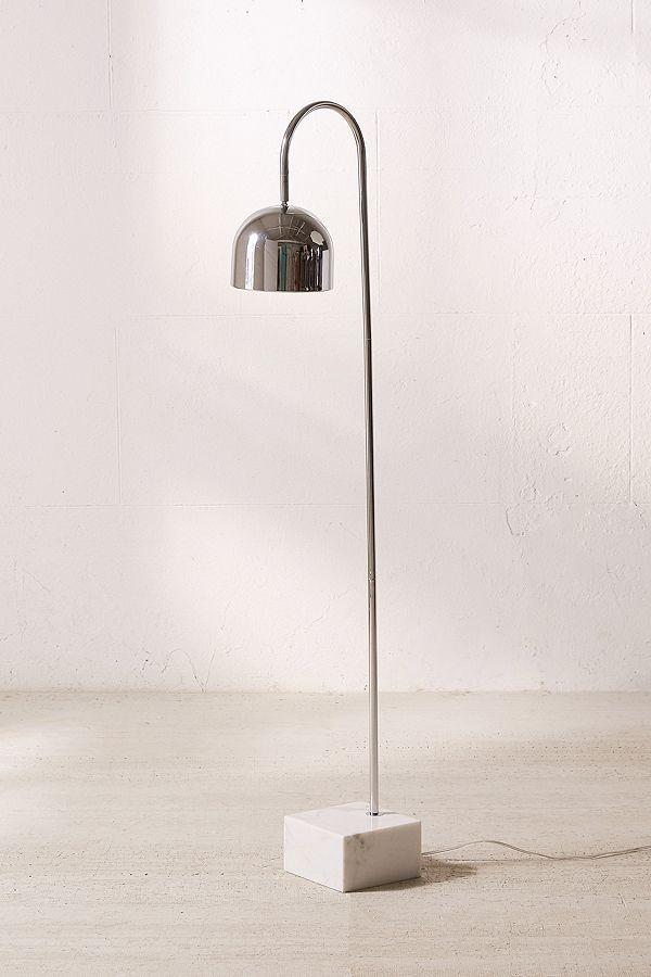 Urban Outfitters Maverick Marble Floor Lamp