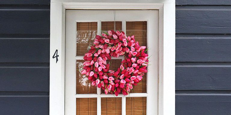 10 Best Spring Wreaths For 2018 Beautiful Flower Wreaths For Spring