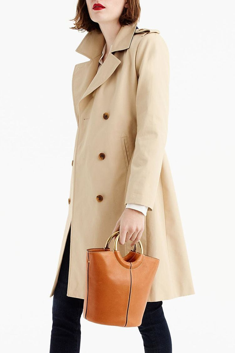 j. crew new icon trench coat