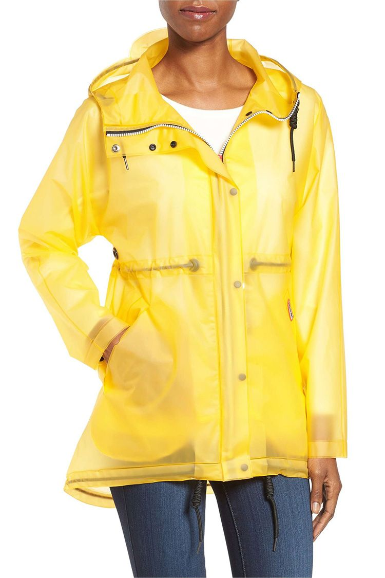 canada goose Raincoats Rain Yellow