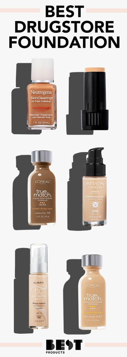 The 11 Best Drugstore Foundations to Buy in 2019