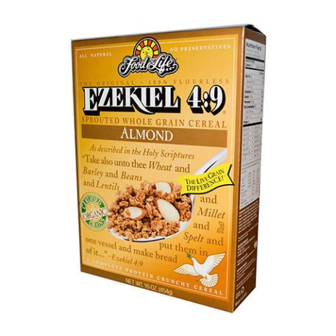 Food For Life Ezekiel 4:9 Sprouted Grain  Almond Cereal