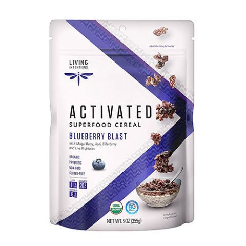 Living Intentions Blueberry Blast Activated Superfood Cereal